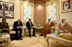 Meeting of Minister Vulin with the Minister of State for Defence Affairs of the UAE