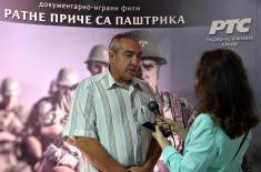 """Премијера документарно-играног филма """"Ратне приче са Паштрика"""""""