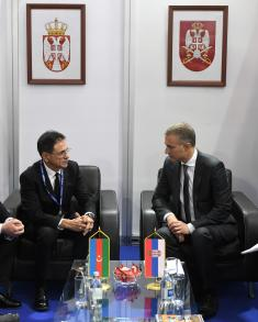 Ministers Stefanović and Guliyev Signed Agreement on Military Technical Cooperation between Serbia and Azerbaijan