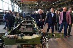 Ministar Vulin: FAP je od danas ušao u novu tehnološku ligu