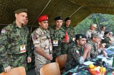 """Србија и Русија изједначене у првој фази такмичења """"Чувар реда"""""""