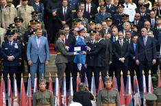 President Vučić: Youngest officers – echelon of freedom and sovereignty of our homeland