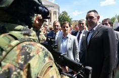 Година рада Владе: Војска и полиција су један систем безбедности и одбране који штити Србију