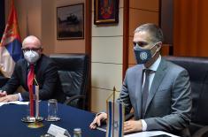 Sastanak ministra Stefanovića sa ambasadorom Izraela Vilanom