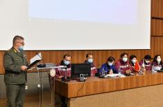 Донација чланова лекарског тима из Народне Републике Кине Управи за војно здравство