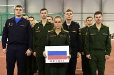 Прво такмичење наших и руских кадета