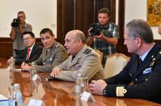 Састанак председника Вучића са председавајућим Војном комитету НАТО