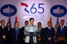 Brnabić: New Planes and Flats for the Members of Security System