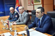 Minister of Defence meets Head of European Union Delegation