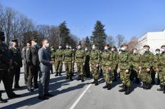 Министар Стефановић присуствовао промоцији најмлађих резервних официра