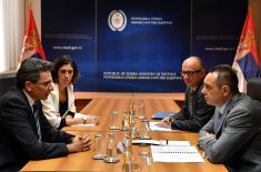 Састанак министра Вулина са амбасадором Шпаније