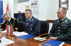 Bilateral defence consultations with the Kingdom of Norway