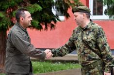 Министар Вулин: Резервни састав високо мотивисан за обуку
