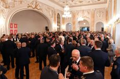 Reception on the Occasion of the Serbian Armed Forces Day