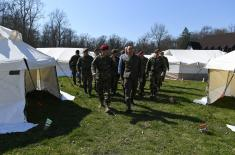 Minister Vulin: The camp in Morović is set up