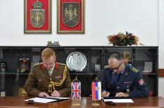 Потписан План билатералне војне сарадње са Уједињеним Краљевством Велике Британије и Северне Ирске