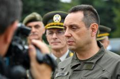 Ministar Vulin: Vojska Srbije ceni podršku i pomoć Narodne Republike Kine