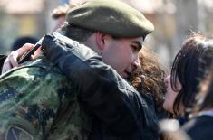 Martovska generacija vojnika položila zakletvu