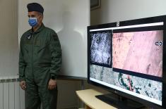 Министар Вулин на првом бојевом гађању из беспилотне летелице ЦХ-92А
