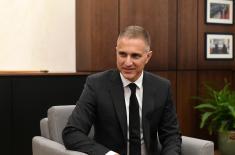 Састанак министра Стефановића са амбасадором УАЕ Дахеријем