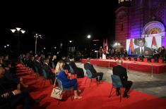 Minister Vulin at the celebration of the Day of Serbian Unity, Freedom and the National Flag