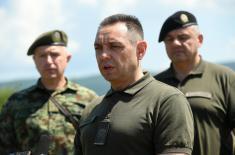 Ministar Vulin: Obučena vojska je garant i podrška mirovnoj politici predsednika