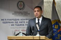 Министар Вулин: Најтежи тренутак наше историје