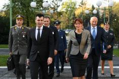 Meeting of Serbian and Slovenian businessmen in defence industry