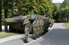 Министар одбране Стефановић и начелник Генералштаба генерал Мојсиловић обишли јединице у стању повишене борбене готовости