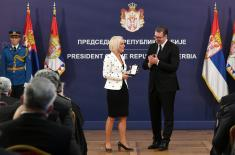 Председник Вучић уручио одликовања поводом Дана државности Србије