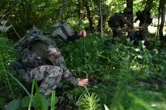 """Обука Батаљона за специјалне операције """"Грифони"""""""