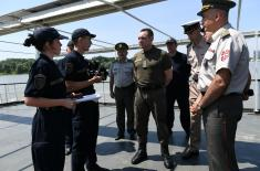 Minister Vulin: The Serbian Armed Forces is ready to defend its land, air and water