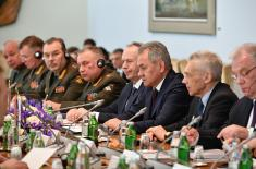 Ministers Vulin and Shoygu: The best cooperation ever
