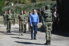 Стефановић: Наш народ нико неће угрожавати, нити ће нам неко говорити где ћемо у централној Србији да користимо своје снаге