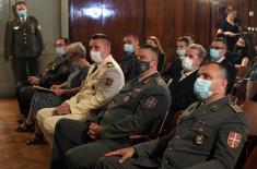 Свечаност поводом завршетка школовања 45. класе ученика Војне гимназије