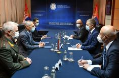 Састанак министра Стефановића и амбасадора Руске Федерације Харченка