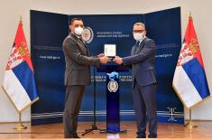 The Ministry of Defence thanked the local businessmen who helped in the fight against Covid-19