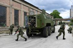 Visok nivo balističke i protivminske zaštite novog oklopnog borbenog vozila M-20 MRAP 6x6