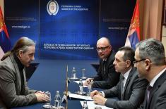 Састанак министра Вулина са послаником Бундестага Нојем