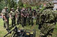 Министар Вулин: Војска Србије наставиће да развија АБХО компоненту