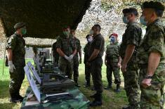 Minister Vulin: The Serbian Armed Forces will continue to develop the CBRN component