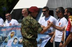"""""""Uspon za pale borce"""" u čast poginulih pripadnika Specijalne brigade"""