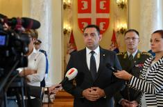 Министар Вулин: Војска Србије брине о својим припадницима
