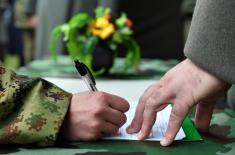 Полагање војничке заклетве