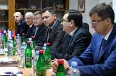 Visit from a Delegation of the Russian Federation to the Sector for Budget and Finance