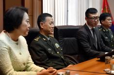 Minister of Defence meets with Rector of the National Defence University of China