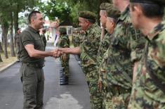 Ministar Vulin: Vojska Srbije razvija sve svoje sposobnosti