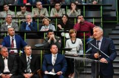 Minister Vulin at ОТЕХ: Only the technology we conquer is ours