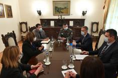 Sastanak ministra Stefanovića i ministarke Gojković