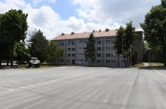 A new 3,300-square-meter lodging facility for cadets of the Military Academy